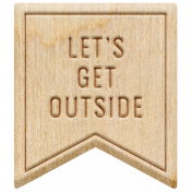 The Good Life: January 2021- Elements Kit- Let's Get Outside Banner