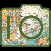 World Traveler #2 Tags & Stickers Kit- Print Camera 1