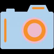 World Traveler #2 Tags & Stickers Kit- Print Camera 2