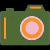 World Traveler #2 Tags & Stickers Kit- Print Camera 2b