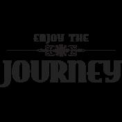 World Traveler-Wordart- Enjoy the journey template