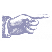 World Traveler #2 Tags & Stickers Kit - Print Vintage Finger 2
