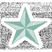 World Traveler #2 Tags & Stickers Kit- Vintage Star