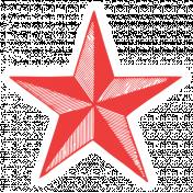World Traveler #2 Tags & Stickers Kit- Vintage Star 5