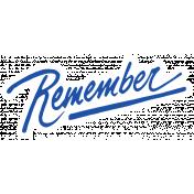 World Traveler #2 Tags & Stickers Kit- Vintage Remember