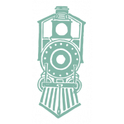 World Traveler #2 Tags & Stickers Kit- Vintage Train