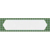 World Traveler #2 Elements Kit- Tag 7 Green