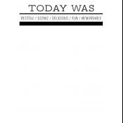 World Traveler #2 Black & White Pocket Cards Kit- Card 10 3x4