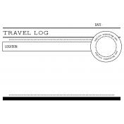 World Traveler #2 Black & White Pocket Cards Kit- Card 01 4x6