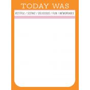 World Traveler #2 Pocket Cards Color Kit- Card 10 3x4