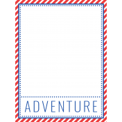 World Traveler #2 Pocket Cards Color Kit- Card 07 3x4