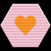 World Traveler Bundle #2 - Elements - Label Plastic Heart