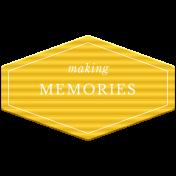 World Traveler Bundle #2 - Elements - Label Plastic Making Memories