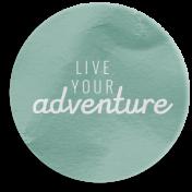 World Traveler Bundle #2- Elements- Label Vellum Live Your Adventure