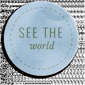 World Traveler Bundle #2- Elements- Label Vellum See The World