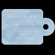 World Traveler Bundle #2- Elements- Label Vellum Somewhere New