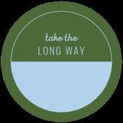 World Traveler Bundle #2- Labels- Label Take The Long Way