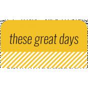 World Traveler Bundle #2- Labels- Label These Great Days