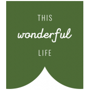 World Traveler Bundle #2- Labels- Label This Wonderful Life