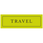 World Traveler Bundle #2- Labels- Label Travel Tag