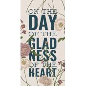 The Good Life: February 2021 Journal Me Kit- Card 01