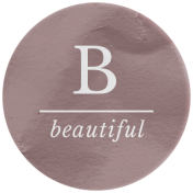 The Good Life: February 2021 Elements Kit- Word- Beautiful