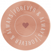 The Good Life: February 2021 Elements Kit- Word- Always & Forever