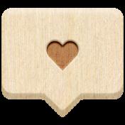 The Good Life: February 2021 Elements Kit- Word- Heart