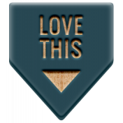The Good Life: February 2021 Elements Kit- Word- Love This 2