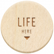 The Good Life: February 2021 Elements Kit- Word- Life Here