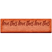 The Good Life: February 2021 Elements Kit- Word- Love This
