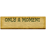 The Good Life: February 2021 Elements Kit- Word- Only A Moment