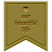 The Good Life: February 2021 Elements Kit- Word- Our Beautiful Life