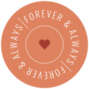The Good Life: February 2021 Labels Kit- label forever and always