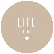The Good Life: February 2021 Labels Kit- label life here