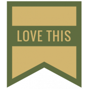 The Good Life: February 2021 Labels Kit- label love this 2