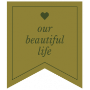 The Good Life: February 2021 Labels Kit- label our beautiful life
