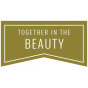 The Good Life: February 2021 Labels Kit- label together in the beauty