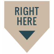 The Good Life: February 2021 Labels Kit- label right here