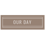 The Good Life: February 2021 Labels Kit- label our day