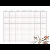 The Good Life: February 2021 Planner & Calendar Kit- blank