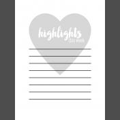 Pocket Card Templates Kit #6 3x4 - journal card template 6i 3x4