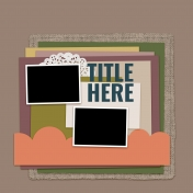 Layout Templates Kit #67- Layout Template 67A