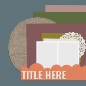 Layout Templates Kit #67- Layout Template 67D