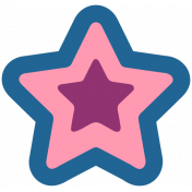The Good Life: March 2021 Labels & Stickers- Print Star 1