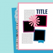 Layout Templates Kit #69- Template 69C