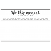 Pocket Cards Template #7_Life This Moment-4x6