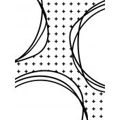 Pocket Cards Template #7_Doodle Circle-3x4