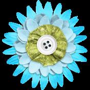 Summer Lovin_Flower-blue green