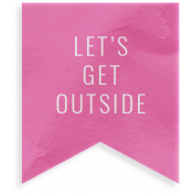 Summer Lovin_Banner flag velum-Let's get outside
